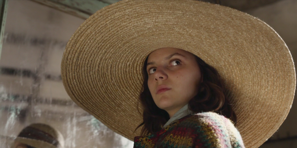 Dafne Keen in His Dark Materials episode The Cave